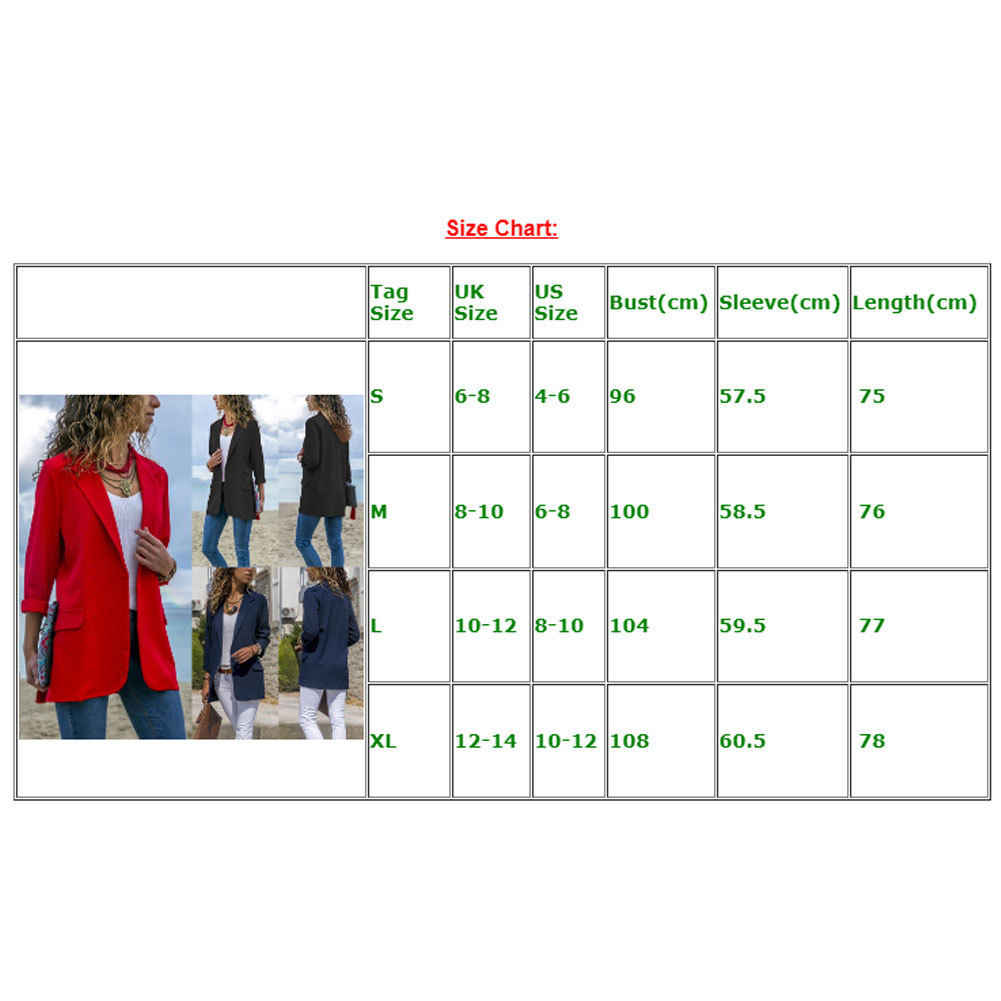 Stijlvolle Vrouwen Katoen Blend Slanke Blazers Werkkleding Comfortabel Pak Uitloper Nieuwe 2019 Herfst Lente