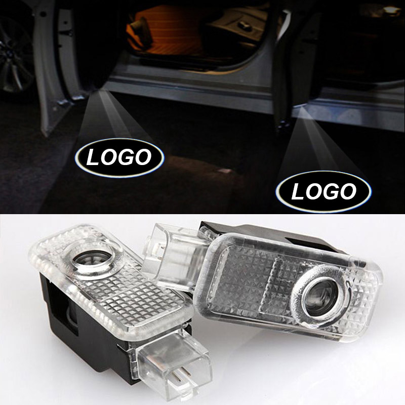 Ownsun Interior LED Courtesy Door Welcome Courtesy Puddle Projector Lamp For Audi A6
