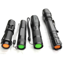 Z10 XML L2 flashlight 5000LM Waterproof Zoomable LED tactical Flashlight Torch light for 18650 Rechargeable Battery or AAA