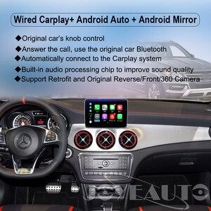 Image 2 - Joyeauto אלחוטי Carplay אנדרואיד אוטומטי עבור מרצדס GLS NTG5 Retrofit תמיכה אחורי מצלמה דינמי הנחיות רכב לשחק מתאם
