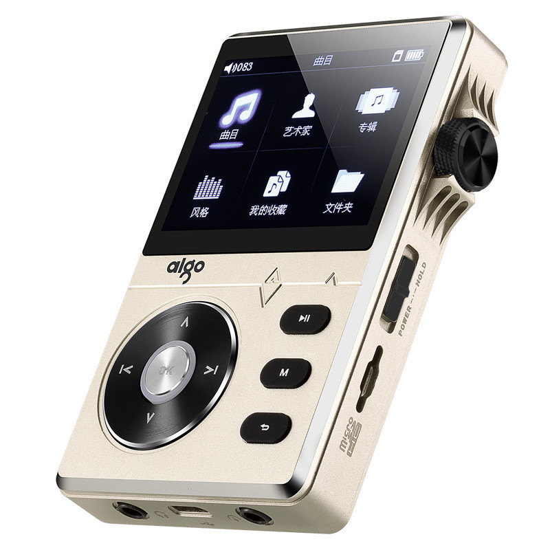 Golden Aigo 108 Zinc Alloy High Quality HiFi Music Player 2 2 8GB MP3 Player support