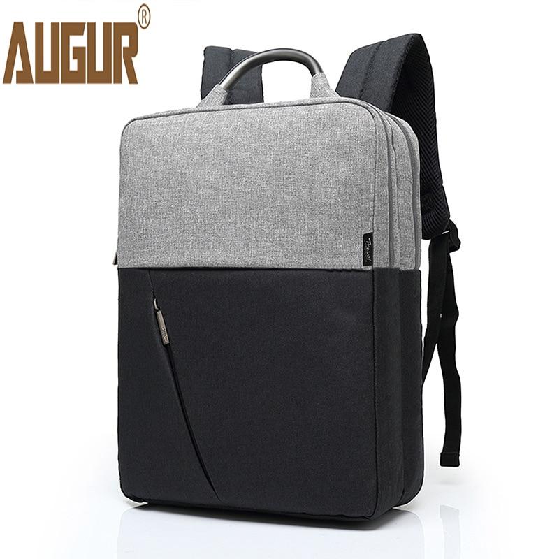 AUGUR Fashion Men Women Backpacks For 15.6inch Laptop Mens Travel School College Back pack Teenager Students Rucksack Daypack