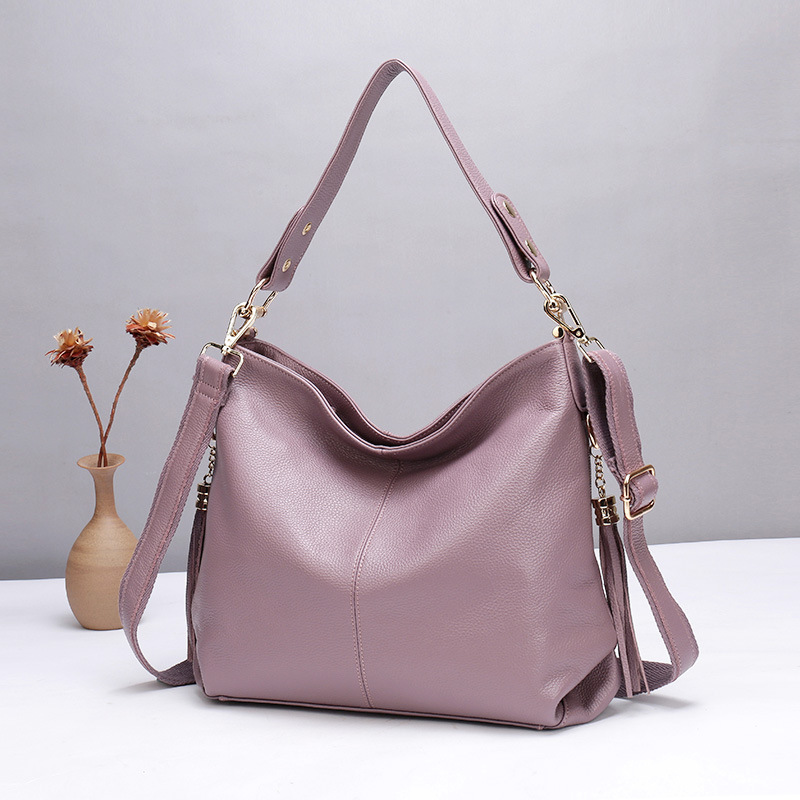 Women Shoulder Crossbody Bags Large Capacity Fashion Tote Bags Genuine Leather Luxury Lady Handbags Casual Leather Messenger Bag цены