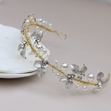 NEW-ARRIVAL Fashion brand bridal wedding hair accessories women girl exquisite head jewelry beauty hairpin Elegant design TH063
