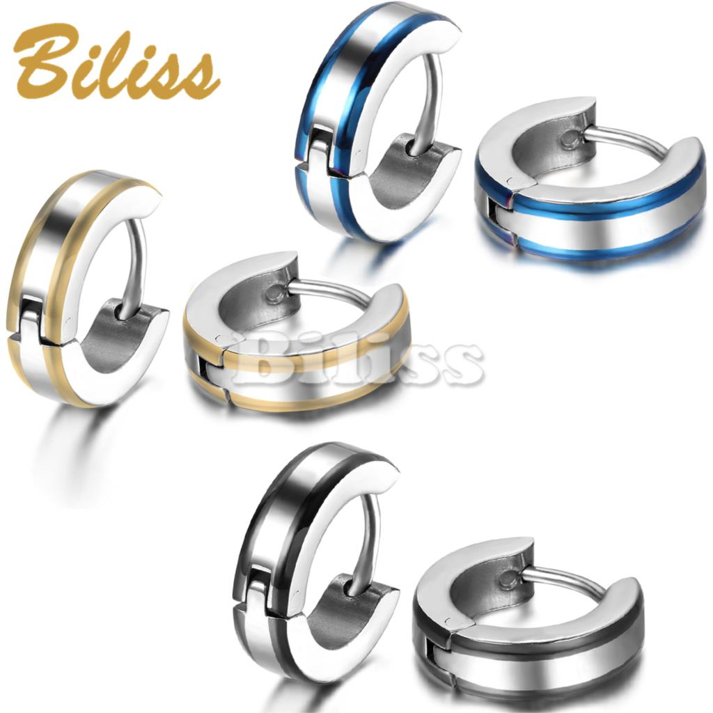 Zilveren oorbellen heren