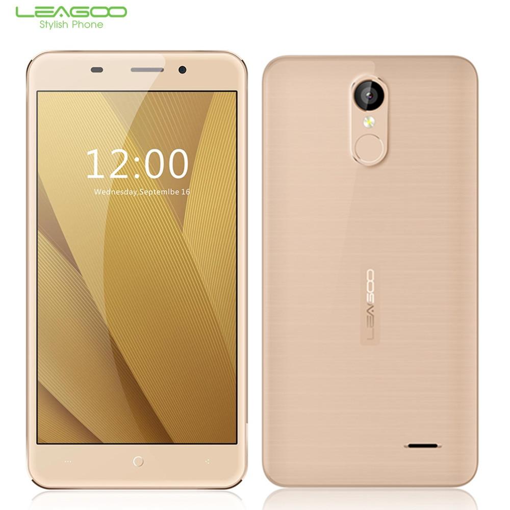 LEAGOO M5 Más 5.5 pulgadas HD 4G Del Teléfono Móvil Android 6.0 MTK6737 Quad Cor