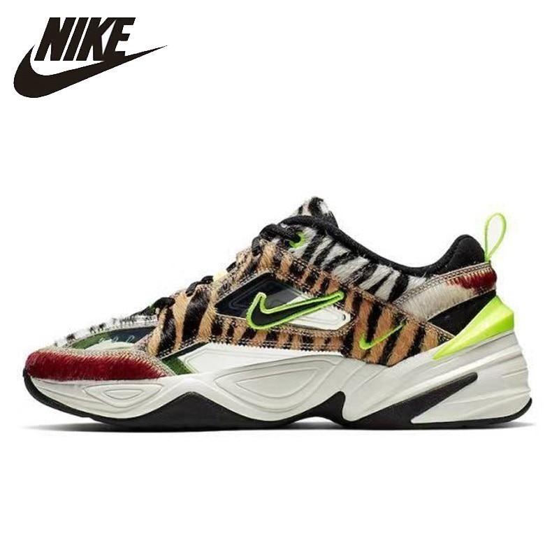 Nike M2k Tekno hommes chaussures de course OAnimal imprimé respirant confortable Sports de plein air baskets hommes nouveauté # CI9631-037