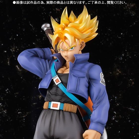Hot Sale Akira Toriyama Comic Anime Dragon Ball Z Super Saiyan Trunks Figuarts ZERO EX Limited Edition 23cm Action Figure akira toriyama dragon ball vol 2