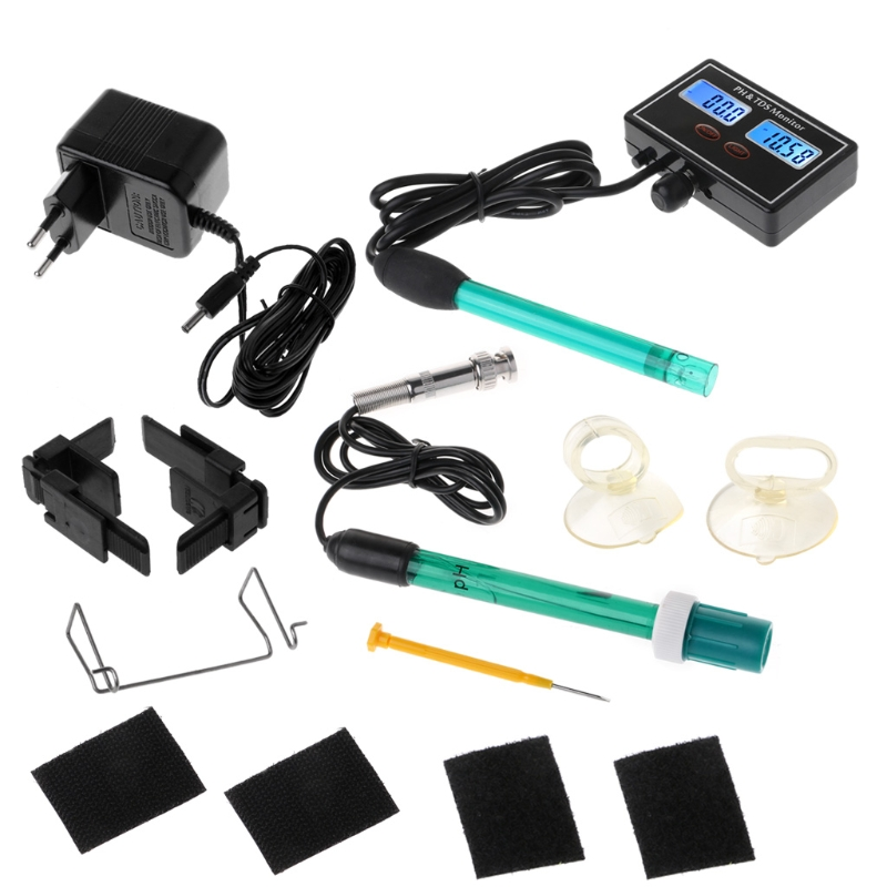 2-in-1 Digital pH TDS Meter Monitor Aquarium Online Water Quality Tester Analyzer цена и фото