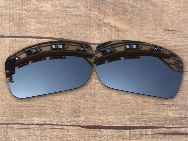 19934e75275 Black Iridium Mirror Polarized Replacement Lenses for Turbine Sunglasses  Frame 100% UVA   UVB Protection