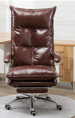 Massage chair for home computer. Leisure boss chair. Leather .