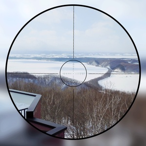 Image 2 - Tactical AK47 AK74 AR15 Hunting scope 4.5X20 E Red Illumination Mil Dot Riflescope
