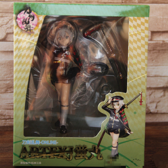18CM 1/8 Hotarumaru Touken Ranbu Online Anime Action Figure PVC Collection toys for christmas gift with retail box free shipping