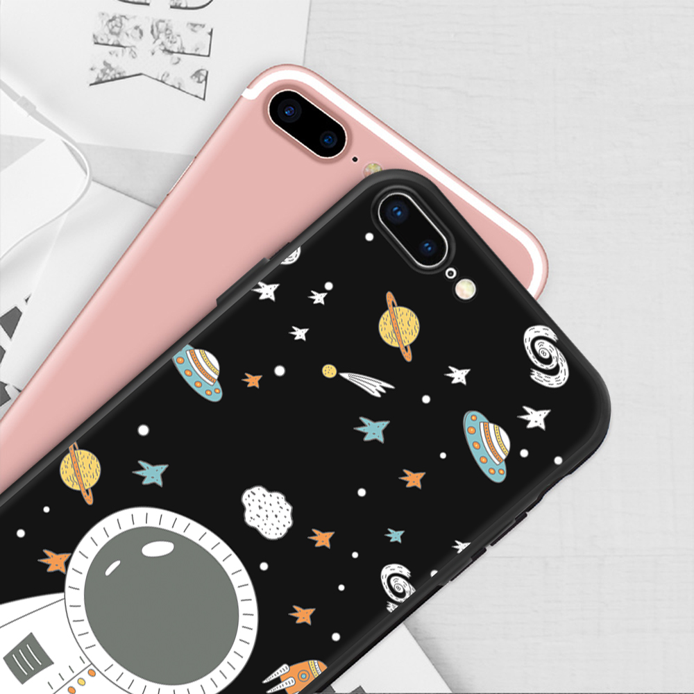 HTB1yxIXpnmWBKNjSZFBq6xxUFXaK - Animal Love Heart Soft TPU Silicone Cases for iPhone 5 S SE X Phone Case For iPhone 6s 6 7 8 Plus XS Max XR Coque Frosted Fundas