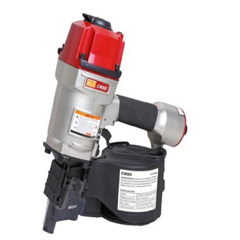 Hot Sale 225-275 Pcs Nail Load Capacity Pneumatic Coli Nail Gun Power Tools With 70-120PSI(5-8.3bar) Coli Nail Gun Free Shipping