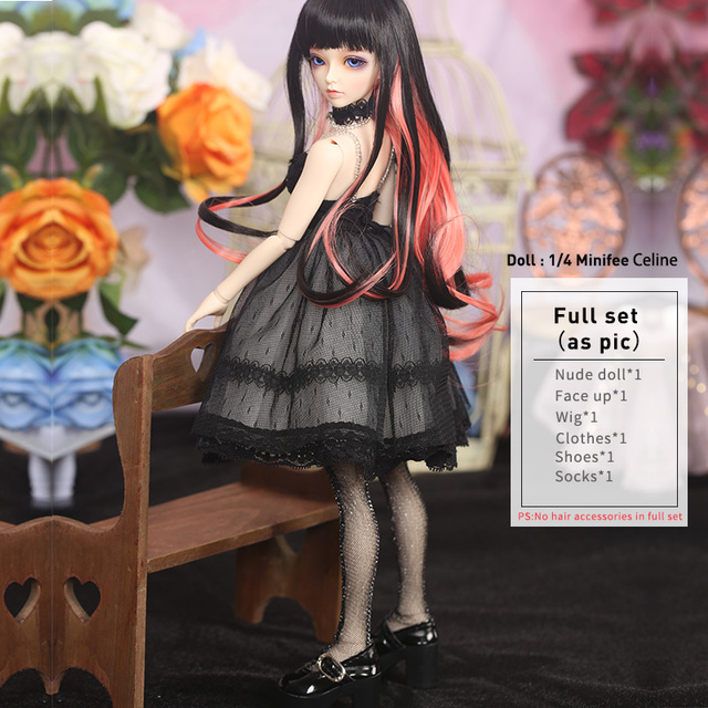 Fairyland Minifee Celine Rendia Chloe Mirwen Eva Rena Full Set Package Resin Doll BJD Kit 1/4 MNF FL