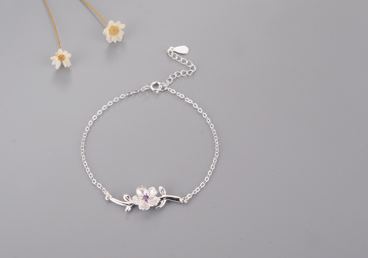 DIP11 new arrival silver s925 bracelet for women birthday gift have different colors choose
