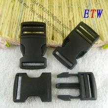 25 мм пластиковые пряжки черный цвет 50 шт./лот одежды школьные сумки аксессуары для оптом и в розницу xiangbaishu