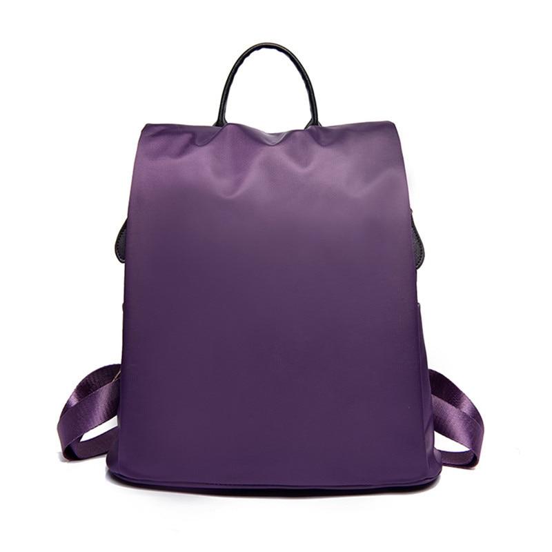 2017 Women Backpack School bag for teenage girl Waterproof Nylon Lady Women's Backpack Female Casual Travel Bag Mochila Feminina
