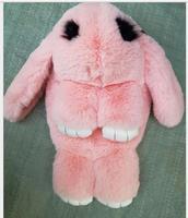 DHL 10 Pieces Women Bag Cute Rabbit Fur Handbags Faux Fur Women Handbags Shoulder Women Messenger