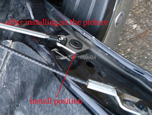 Image 4 - for Ford ranger T6 T7 XL PX XLT WILDTRAK 2012 2016 MAZDA BT50 rear gate strut shock gas spring slow down