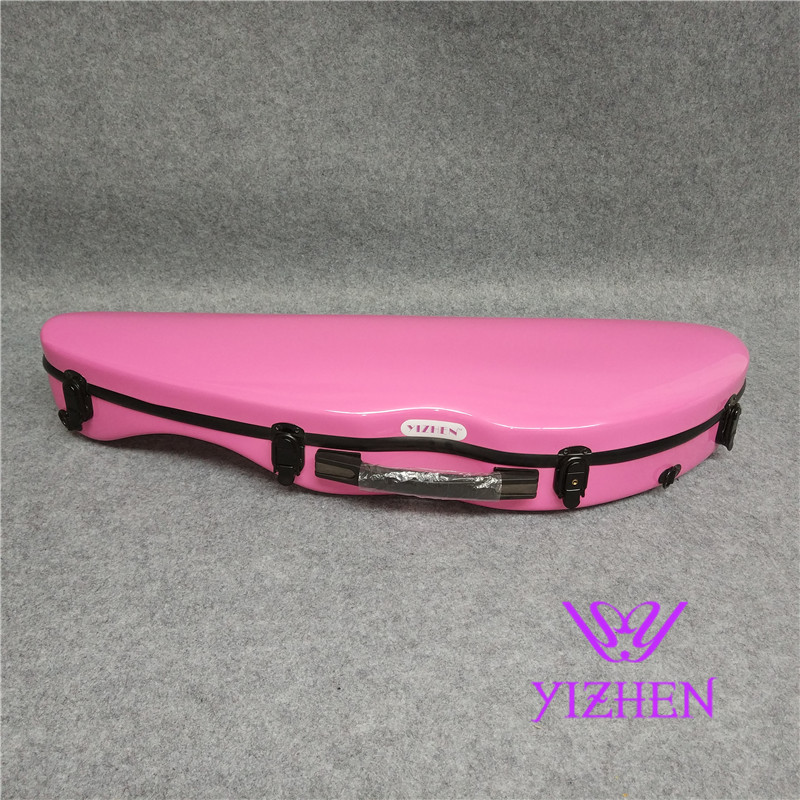 High Quality 4/4 Violin Case Full Size Violin Case Fiddle Violin Case Fiber Glass Violin Case With Bow Holders & Straps new high quality violin 4 4 fiddle full size 100