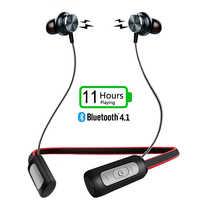 ZAPET Bluetooth4.1 Neckhang À Prova D' Água Esportes Fones De Ouvido Bluetooth Estéreo Sem Fio Fone de Ouvido com Microfone para fone de ouvido de telefone
