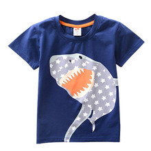 MUQGEW  Boys Clothes Short Sleeve Cartoon Tops T-Shirt Blous Kids  boys clothes summer children clothing jongens kleding 20