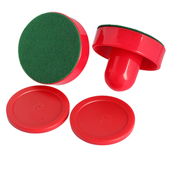 High Quality 2pcs Air Hockey Table Felt Pusher with Puck Air Hockey Accessories Tool For Outdoor Sport B2Cshop