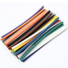 33 Шт. 200 мм Черный 2:1 Безгалогеновый Термоусадочные Трубки Ассортимент Wrap Электрической Изоляции Материала Трубки