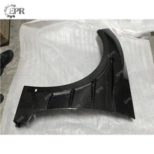 Carbon Front Fender For Hyundai Veloster Carbon Fiber EPA Style Vented Fender Body Kit Tuning Trim Accessories For Veloster for hyundai veloster carbon fiber gear surround stick on type in stock