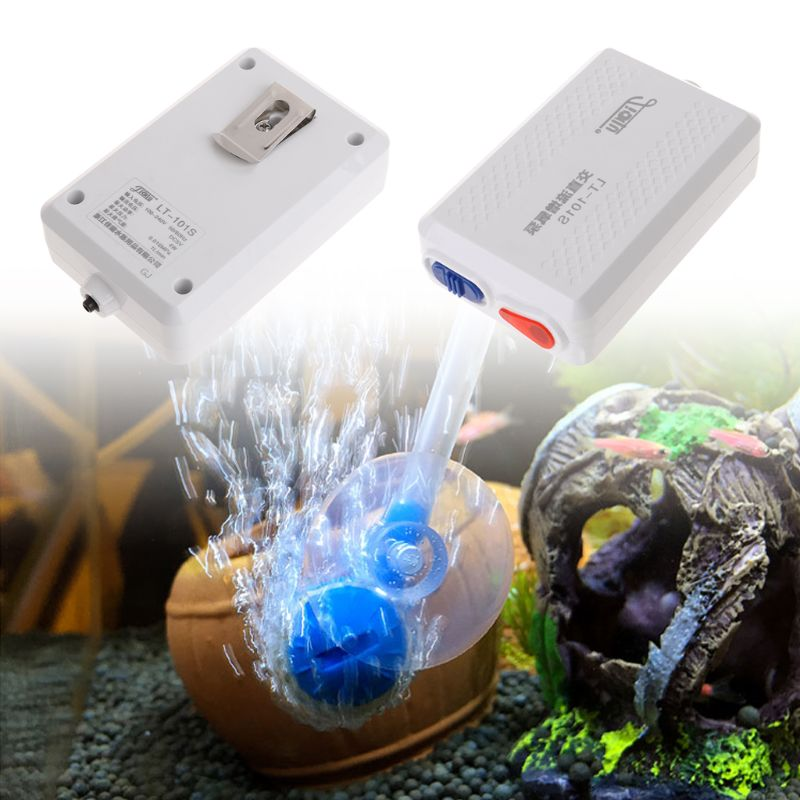 Купить с кэшбэком Oxygen Pump Aquarium Air Pump Compressor USB Rechargeable Outdoor Portable US Plug 100-240V Fish Tank Supplies Equipment