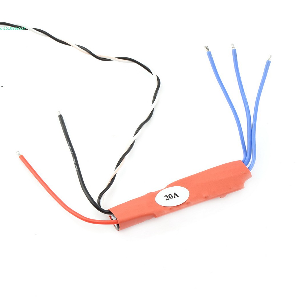 20A 2 4S Brushless ESC for font b RC b font Quadcopter Multicopter Tube Installation Red