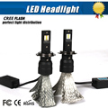LED H7 Car Headlights Kit 70W 6800lm Auto Front Light H7 Fog Bulb 6000K Xenon White Plug&Play LED Automotive Headlamp 1x Pair
