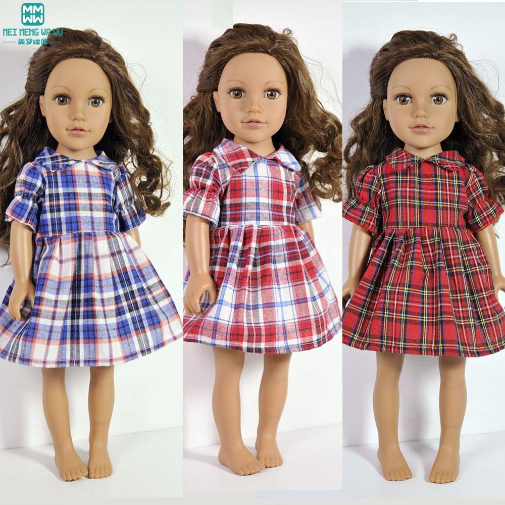 Pelbagai gaun puteri Puteri Pakaian untuk anak patung sesuai dengan patung gadis 45cm dan aksesori anak patung zapf yang dilahirkan