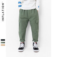 Baby Boys Cargo Pants Fashion Army Green Casual Pants Kids Boys Big Pocket Trousers Baby Boy Clothes Kids Sport Pant 2019 Spring
