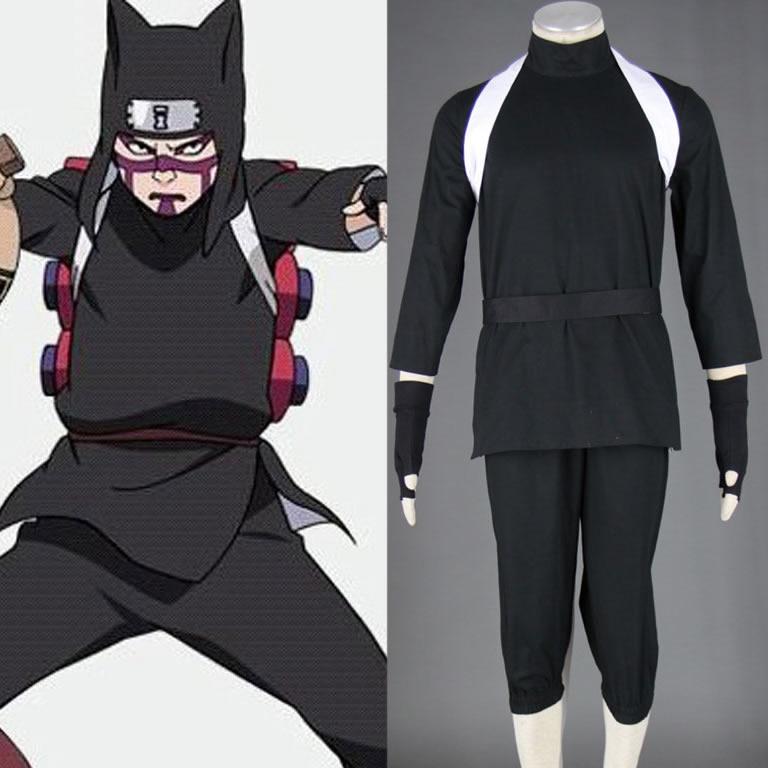 Naruto Shippuden Kankuro 2nd version Men's Cosplay Costume Halloween can customized