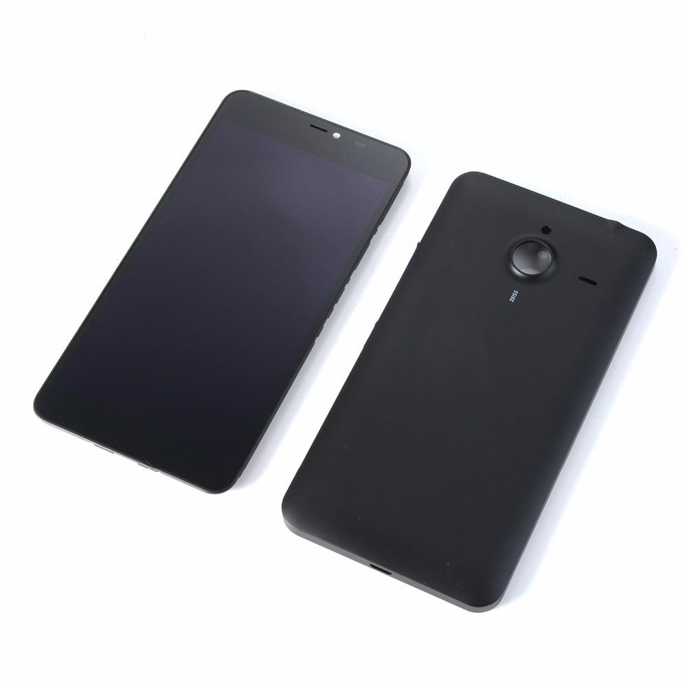 D'origine Pour Nokia Lumia 640 XL 640XL LCD Affichage à L'écran Tactile Digitizer + Couverture Arrière de Batterie