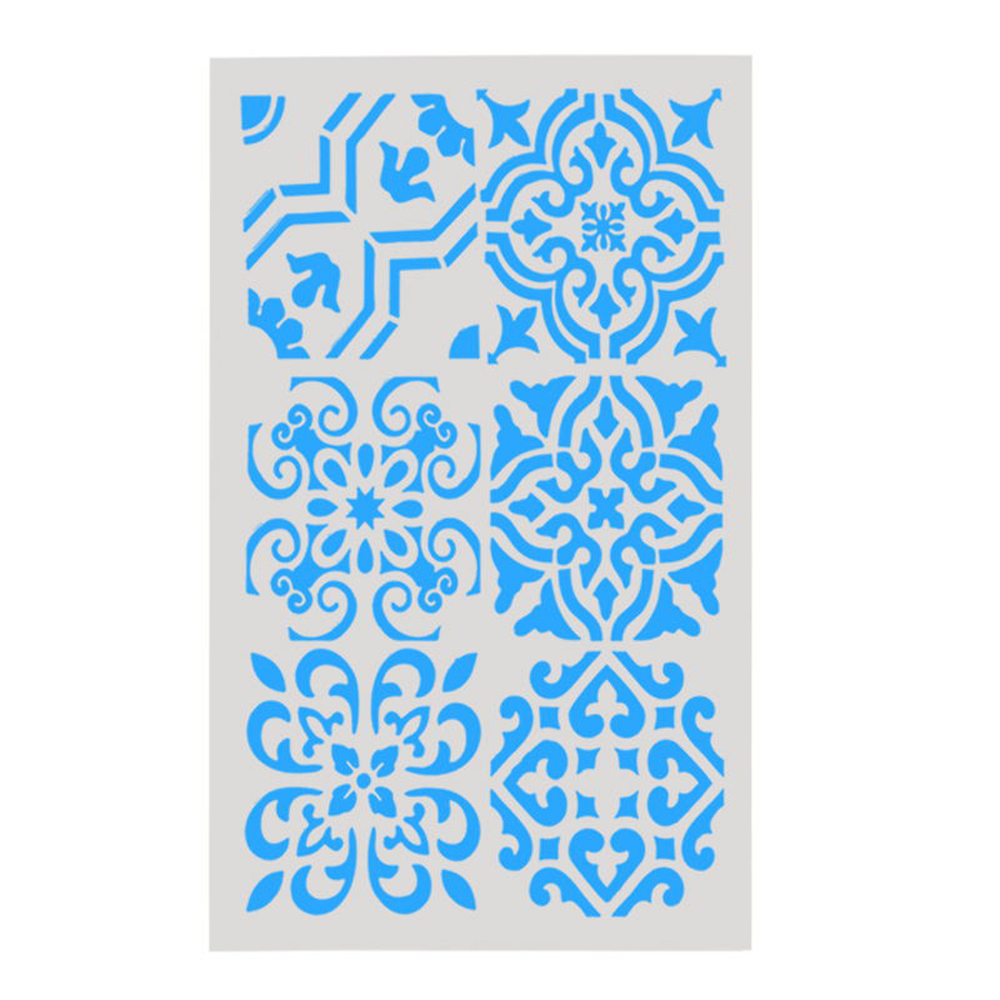 Buy flower wall stencils and get free shipping on aliexpress amipublicfo Image collections