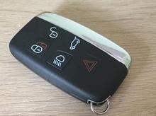 For LAND ROVER LR4 RANGE EVOQUE SPORT 5 Button Smart Remote Key Shell Case Cover