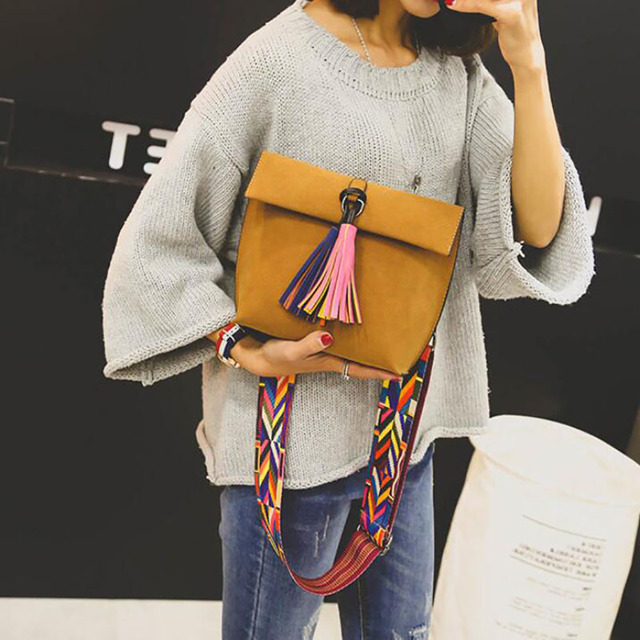 Messenger Tassel Crossbody Bags