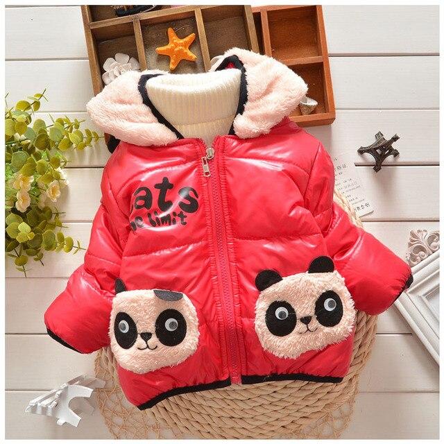New year autumn winter children's clothing little boy 0-2 year old children's clothing cotton new cartoon panda design hot sale