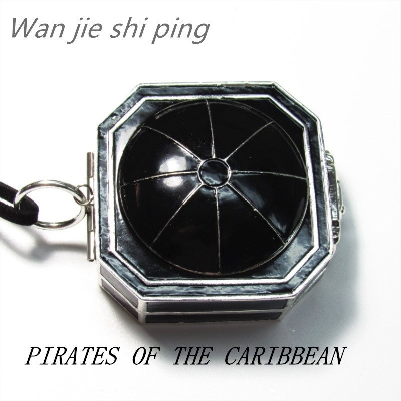 New style Pirates of the Caribbean Compass Necklace цена 2017