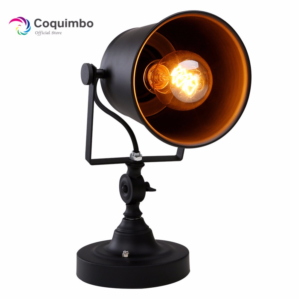 Iron Wall Lamp American Retro Country Loft Style LED Lamps Industrial Vintage Wall Light For Bar Cafe Restaurant Home Lighting