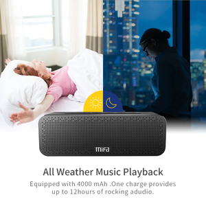 Image 4 - Mifa A20 Bluetooth Speaker Metal Draagbare Super Bass Wireless Speaker Bluetooth4.2 3D Digitale Sound Luidspreker Handenvrij Mic Tws