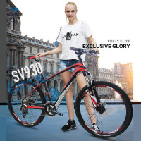 New Brand Mountain Bike Carbon Fiber Frame 26 Inch Wheel 27 Speed Shiman0 Outdoor Sport Downhill
