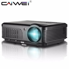 CAIWEI A6 Smart Home Cinema Theater Porjector Multimedia Android WiFi Bluetooth DVB-T Digital TV HD Online Video Games Apps