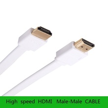 SL FLAT HDMI Cable High-speed Supports 3D Resolution Ethernet 1080P,TV to Satellite Home Theater Components Video Game