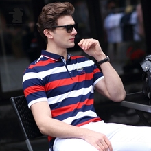 2017 Summer New men's Polo Shirt Many Style Fashion Striped High Quality Plus Size Business Casual Polo Shirt Men M~3XL C15E1746