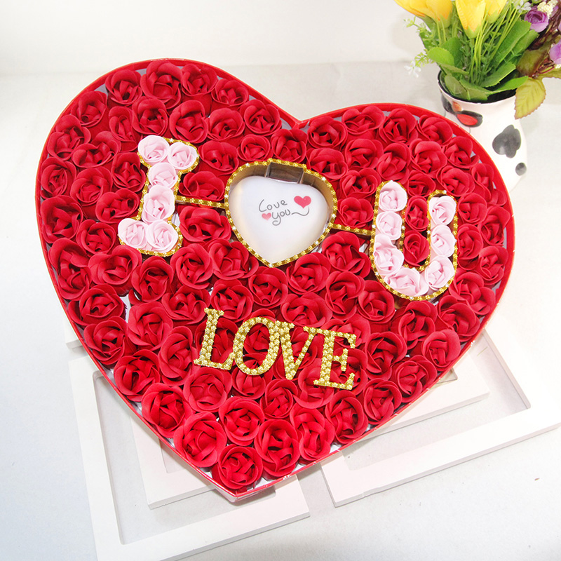 Soap Flower Gift Birthday To Send His Girlfriend A My Wife Girls Romantic Confession 100 On Aliexpress